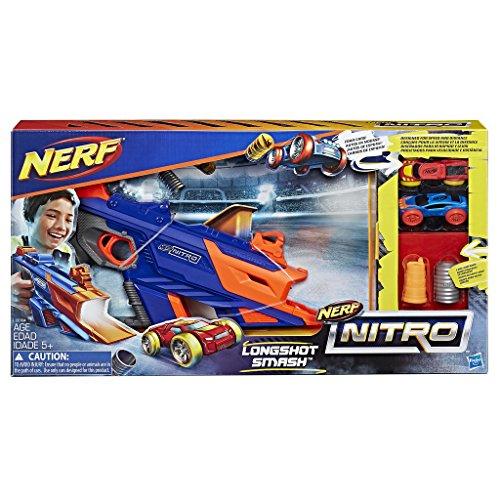 ナーフ ナイトロ アメリカ 直輸入 ミニカー 【送料無料】NERF Nitro Longshot Smashナーフ ナイトロ アメリカ 直輸入 ミニカー