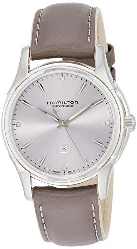 ハミルトン 腕時計 レディース Hamilton Jazzmaster Automatic Diamond Silver Dial Ladies Watch H32315891ハミルトン 腕時計 レディース