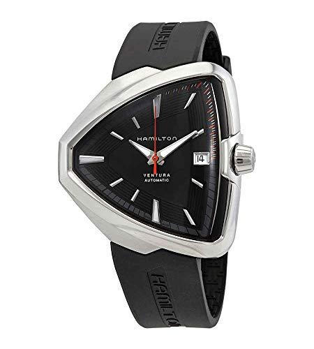 ハミルトン 腕時計 レディース Hamilton Ventura Elvis80 Automatic Black Dial Mens Watch H24555331ハミルトン 腕時計 レディース