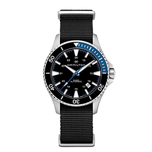 腕時計 ハミルトン メンズ 【送料無料】Hamilton H82315931 Khaki Navy Scuba Men's Watch Black 40mm Stainless Steel腕時計 ハミルトン メンズ
