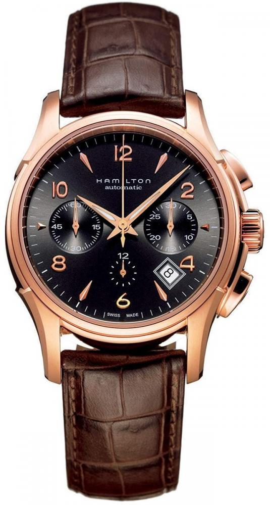ハミルトン 腕時計 メンズ Hamilton Men's HML-H32646595 Jazzmaster Brown Dial Watchハミルトン 腕時計 メンズ