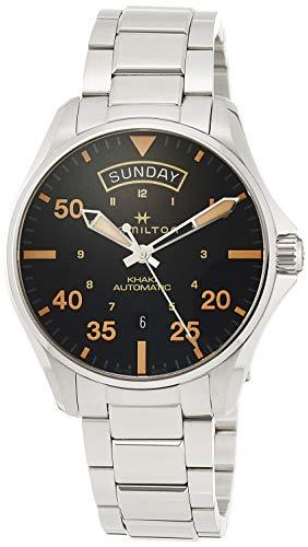 【レビューで送料無料】 腕時計 ハミルトン メンズ【送料無料 腕時計】Hamilton【送料無料】Hamilton Khaki Aviation Automatic ハミルトン Black Dial Men's Watch H64645131腕時計 ハミルトン メンズ, ウインクデジタル:25aef05a --- experiencesar.com.ar