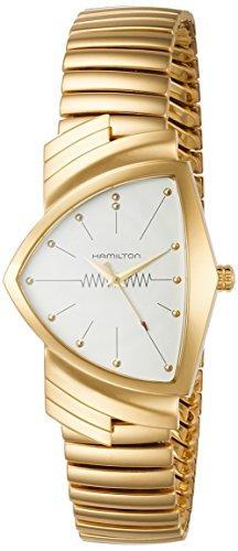 ハミルトン 腕時計 メンズ 【送料無料】Hamilton Ventura L White Dial Asymmetric Men's Watch H24301111ハミルトン 腕時計 メンズ
