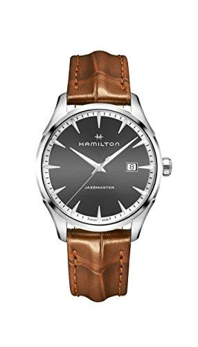 ハミルトン 腕時計 メンズ Hamilton Jazzmaster Grey Dial Mens Watch H32451581ハミルトン 腕時計 メンズ