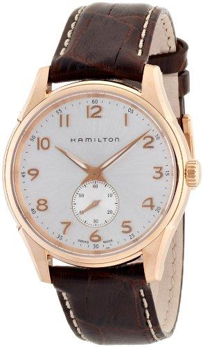 ハミルトン 腕時計 メンズ 【送料無料】Hamilton Men's H38441553 Jazzmaster Silver Dial Watchハミルトン 腕時計 メンズ