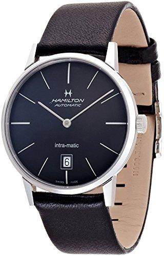 ハミルトン 腕時計 メンズ 【送料無料】HAMILTON watch INTRA-MATIC 38mm H38455731 Men's [regular imported goods]ハミルトン 腕時計 メンズ