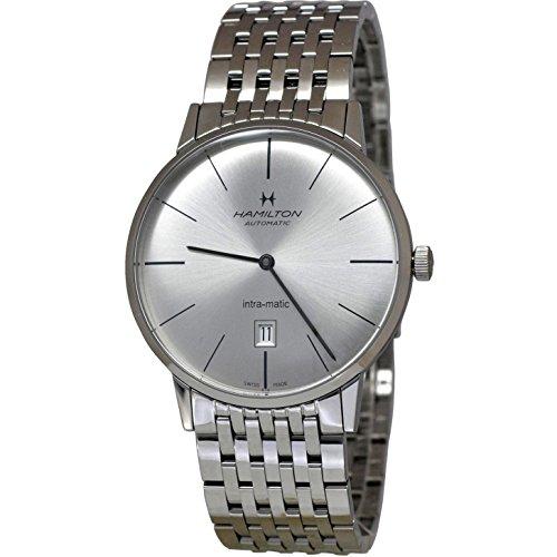 ハミルトン 腕時計 メンズ 【送料無料】Hamilton Intra-Matic Ultra-Slim Mens Watch H38755151ハミルトン 腕時計 メンズ
