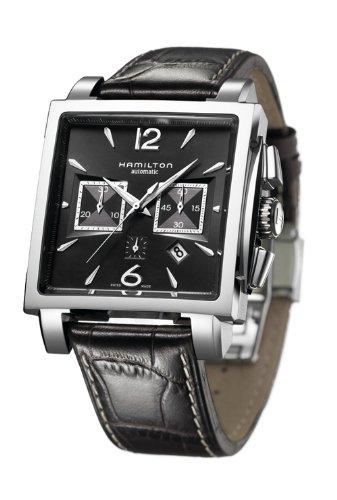 ハミルトン 腕時計 メンズ 【送料無料】Hamilton Jazzmaster Square Auto Chrono Men's Automatic Watch H32666535ハミルトン 腕時計 メンズ
