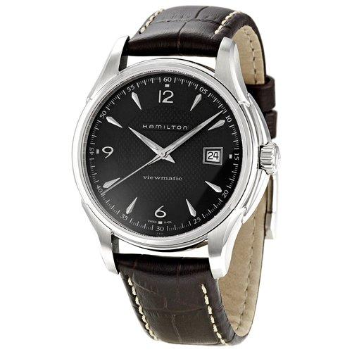 ハミルトン 腕時計 メンズ 夏のボーナス特集 Hamilton Jazzmaster Viewmatic H32515535 Men's Black Watchハミルトン 腕時計 メンズ 夏のボーナス特集