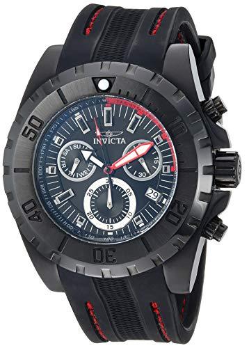 インヴィクタ インビクタ プロダイバー 腕時計 メンズ 【送料無料】Invicta Men's Pro Diver Stainless Steel Quartz Watch with Silicone Strap, Black, 24.6 (Model: 25739)インヴィクタ インビクタ プロダイバー 腕時計 メンズ