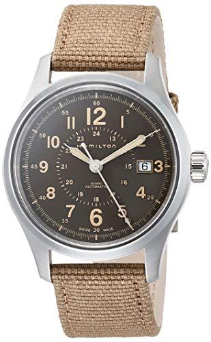 ハミルトン 腕時計 メンズ 【送料無料】Hamilton Khaki Field Automatic Brown Dial Men's Watch H70305993ハミルトン 腕時計 メンズ