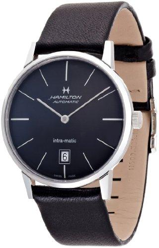 ハミルトン 腕時計 メンズ 【送料無料】Hamilton Intra-matic Watchハミルトン 腕時計 メンズ