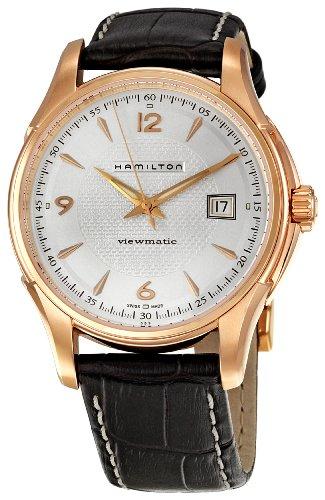 ハミルトン 腕時計 メンズ 【送料無料】Hamilton Men's H32545555 Jazzmaster Silver Dial Watchハミルトン 腕時計 メンズ