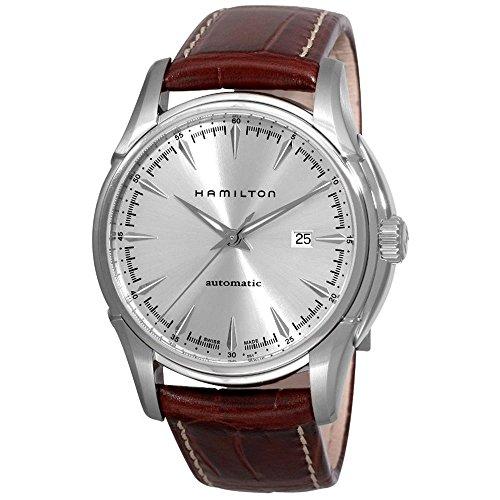 腕時計 ハミルトン メンズ 【送料無料】Hamilton Jazzmaster Viewmatic Silver Dial Men's Watch - H32715551腕時計 ハミルトン メンズ