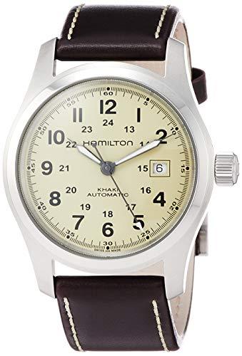 腕時計 ハミルトン メンズ 【送料無料】Hamilton Men's Field H70555523 Brown Leather Swiss Automatic Watch腕時計 ハミルトン メンズ