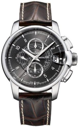 ハミルトン 腕時計 メンズ 【送料無料】Hamilton American Classic Railroad Auto Chrono Men's Automatic Watch H40616535ハミルトン 腕時計 メンズ
