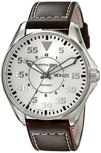 ハミルトン 腕時計 メンズ 【送料無料】Hamilton watch Khaki Pilot 42mm H64611555 Men'sハミルトン 腕時計 メンズ