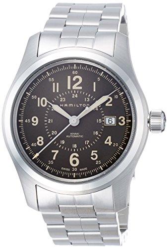 ハミルトン 腕時計 メンズ 【送料無料】Hamilton Khaki Field Automatic Brown Dial Men's Watch H70605193ハミルトン 腕時計 メンズ
