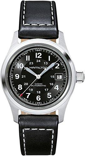 ハミルトン 腕時計 メンズ 【送料無料】Hamilton Men's Khaki Field - H70455733 Black One Sizeハミルトン 腕時計 メンズ