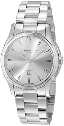 腕時計 ハミルトン メンズ 【送料無料】Hamilton Men's H32315152 Jazzmaster Silver Dial Watch腕時計 ハミルトン メンズ