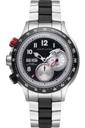 ハミルトン 腕時計 メンズ 【送料無料】Hamilton Khaki Aviation Tachymiler Men's Automatic Watch H71726233ハミルトン 腕時計 メンズ