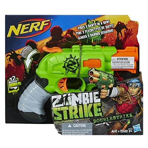 ナーフ ゾンビストライク アメリカ 直輸入 ソフトダーツ 【送料無料】NERF Zombie Strike Doublestrike Blasterナーフ ゾンビストライク アメリカ 直輸入 ソフトダーツ