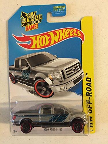ホットウィール マテル ミニカー ホットウイール 【送料無料】Hot Wheels 2014 2009 Ford F-150 (Grey/Blue) HW Off-Roadホットウィール マテル ミニカー ホットウイール