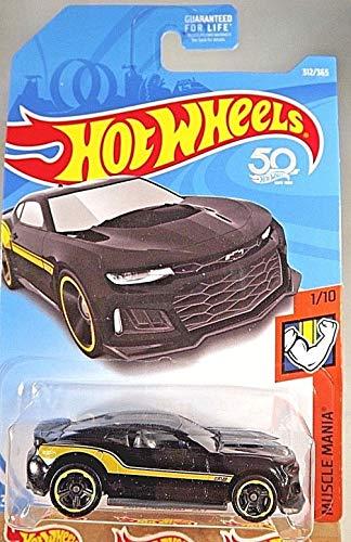 ホットウィール マテル ミニカー ホットウイール Hot Wheels 2018 Muscle Mania 1/10 - 2017 Camaro ZL1 (黒)ホットウィール マテル ミニカー ホットウイール