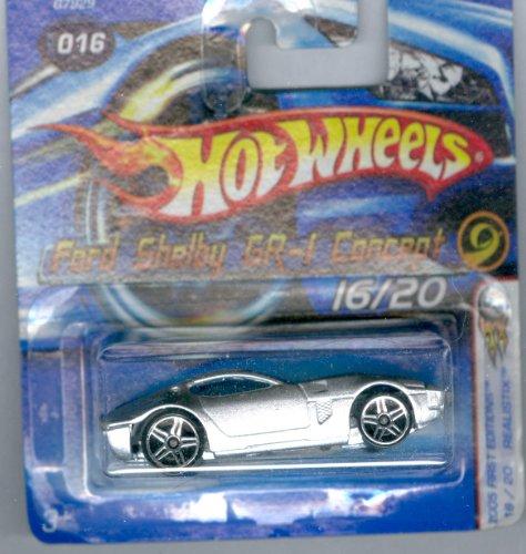 ホットウィール マテル ミニカー ホットウイール 【送料無料】Hot Wheels 20005-016 First Editions Ford Shelby GR-1 Concept Realistix 1:64 Scaleホットウィール マテル ミニカー ホットウイール