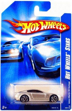 ホットウィール マテル ミニカー ホットウイール Hot Wheels Mattel 2006 Code Car Series 1:64 Scale Die Cast Metal Car # 8 of 24 - 銀 Luxury Exotic Sport Coupe Aston Martin V8 Vantage with Fun Fact # 92ホットウィール マテル ミニカー ホットウイール