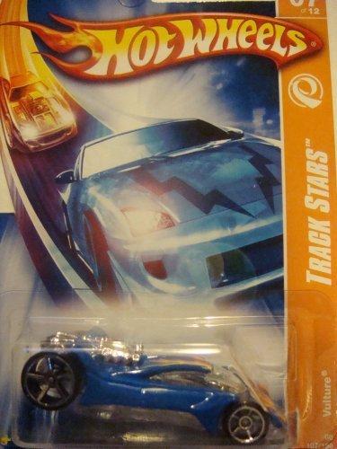 ホットウィール マテル ミニカー ホットウイール 【送料無料】Hot Wheels Track Star Vulture =Blue= With Flamz On Top Sittin' on FTe's 2008 1-64 #107ホットウィール マテル ミニカー ホットウイール