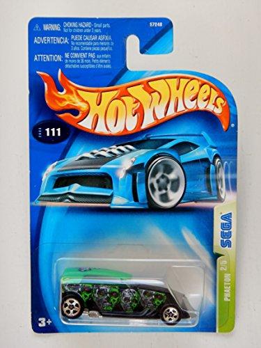 ホットウィール マテル ミニカー ホットウイール Hot Wheels 2003 Phaeton Sega 2/5 #111 黒 1:64 Scaleホットウィール マテル ミニカー ホットウイール
