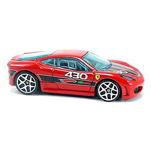 ホットウィール マテル ミニカー ホットウイール 【送料無料】Hot Wheels 2009 Mystery Cars Ferrari F430 Challenge Red No Packagingホットウィール マテル ミニカー ホットウイール
