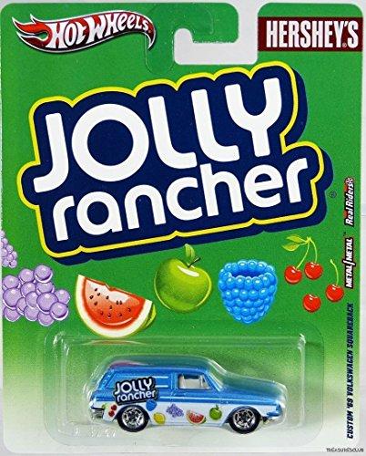 ホットウィール マテル ミニカー ホットウイール 【送料無料】Hot Wheels Hershey's Jolly Rancher Custom '69 Volkswagen Squareback Blue/Whiteホットウィール マテル ミニカー ホットウイール