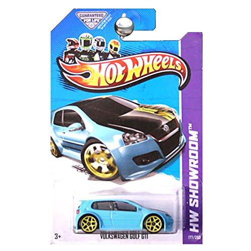 ホットウィール マテル ミニカー ホットウイール 【送料無料】Hot Wheels 2013 HW Showroom Volkswagen VW Golf GTI Aqua Blueホットウィール マテル ミニカー ホットウイール