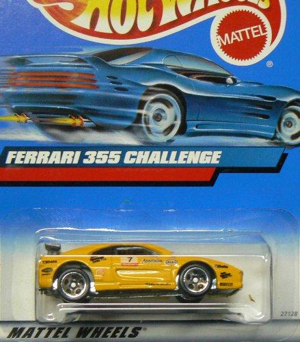 ホットウィール マテル ミニカー ホットウイール 【送料無料】Hot Wheels #2000-162 Ferrari 355 Challenge Collectible Collector Car Mattel 1:64 Scaleホットウィール マテル ミニカー ホットウイール