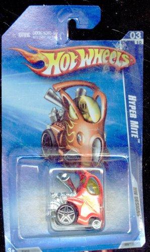 ホットウィール マテル ミニカー ホットウイール Hot Wheels 2009-099/190 HW Designs 03/10 Hyper Mite 1:64 Scaleホットウィール マテル ミニカー ホットウイール