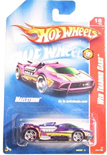 ホットウィール マテル ミニカー ホットウイール 2008 Hot Wheels Web Trading Cars 紫の Maelstrom w/ PR5s #094 (18 of 24)ホットウィール マテル ミニカー ホットウイール