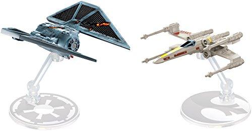 ホットウィール マテル ミニカー ホットウイール 【送料無料】Hot Wheels Star Wars Rogue One Starships The Striker vs. X-Wing Fighter Vehicle, 2 Packホットウィール マテル ミニカー ホットウイール