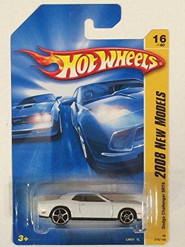 ホットウィール マテル ミニカー ホットウイール 【送料無料】Hot Wheels 2008 New Models White Dodge Challenger SRT8 w/ OH5SPs #16 (16 of 40)ホットウィール マテル ミニカー ホットウイール