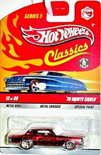 ホットウィール マテル ミニカー ホットウイール Hot Wheels Classics 13/30 Series 5 - Red '70 Monte Carloホットウィール マテル ミニカー ホットウイール