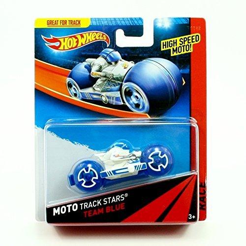 ホットウィール マテル ミニカー ホットウイール Hot Wheels Team Blue 2013 Moto Track Stars High Speed Motorcycle (BDN42)ホットウィール マテル ミニカー ホットウイール