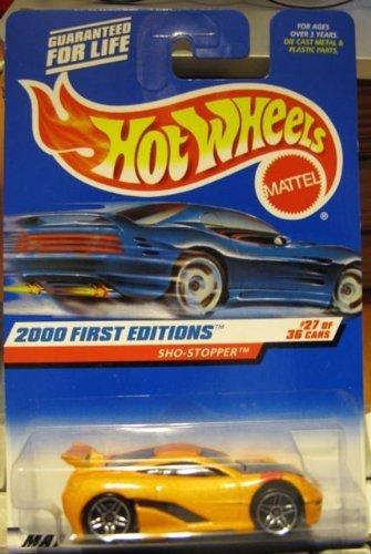 ホットウィール マテル ミニカー ホットウイール Hot Wheels 2000-087 First Editions Sho-Stopper 27/36 オレンジ #087ホットウィール マテル ミニカー ホットウイール