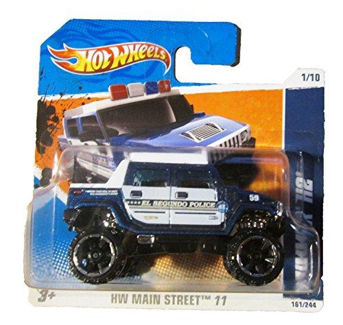 ホットウィール マテル ミニカー ホットウイール 【送料無料】Hot Wheels SHORT CARD Hummer H2 SUT