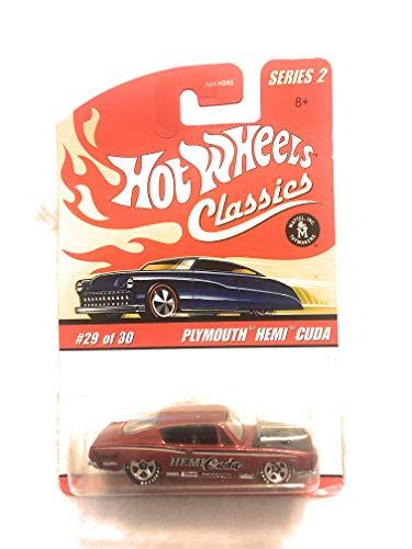 ホットウィール マテル ミニカー ホットウイール 【送料無料】Hot Wheels Classics Series 2: Plymouth Hemi Cudaホットウィール マテル ミニカー ホットウイール