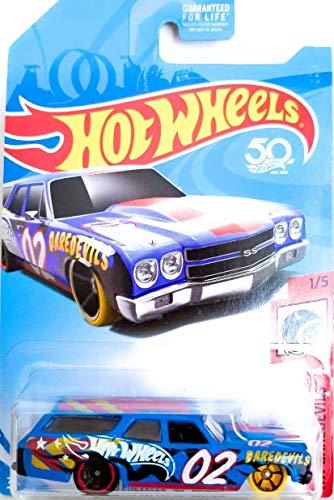ホットウィール マテル ミニカー ホットウイール Hot Wheels 2018 HW Da赤evils '70 Chevelle SS Wagon, 青ホットウィール マテル ミニカー ホットウイール