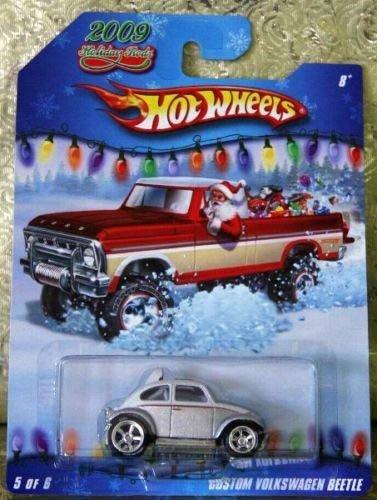 ホットウィール マテル ミニカー ホットウイール 【送料無料】Hot Wheels 2009 Holiday Rods #5/6 - Silver/White Custom Volkswagen Beetleホットウィール マテル ミニカー ホットウイール
