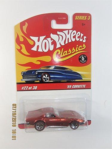 ホットウィール マテル ミニカー ホットウイール 【送料無料】Hot Wheels Classics Series 3 '69 Corvette #22 of 30ホットウィール マテル ミニカー ホットウイール