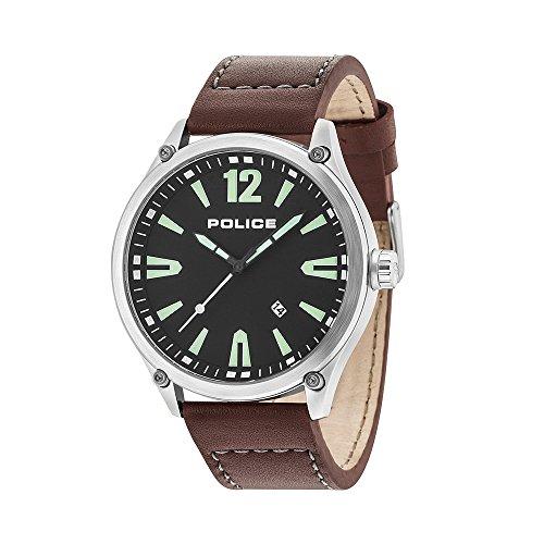 ポリス 腕時計 メンズ 【送料無料】POLICE DENTON R1451287002 Men's Watch BLACKポリス 腕時計 メンズ