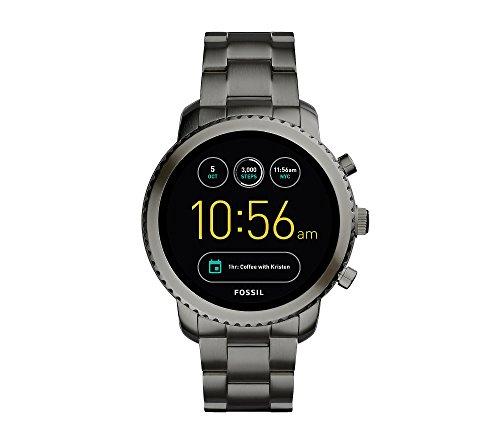フォッシル 腕時計 メンズ 【送料無料】Fossil Gen 3 Q Explorist Smoke Stainless Steel Smartwatchフォッシル 腕時計 メンズ